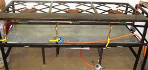 1 x 3 Gas Boiling Table
