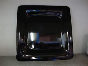 Black Square Platter = 30 x 30cm perspex