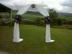 Draped Bridal Arch
