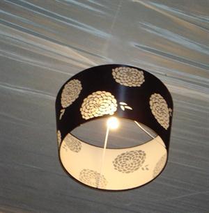 Draping and Lamp Shade