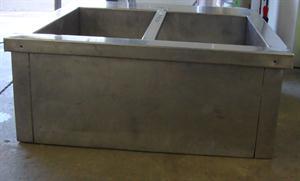 Electric 2 division Bain Marie - Table Model 76 x 75cm x 32cm high