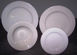 Everest Crockery - Dinner Plate, Fish Plate, Side Plate, DessertSoup Bowl