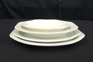 F600 Dinner Plate, Fish Plate, Soup Plate & Sweet Bowl