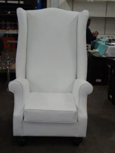 King & Queen Chair - white