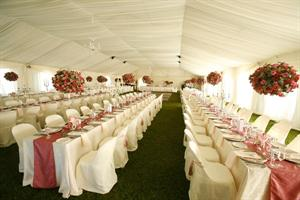 Marquee Draping in Cream