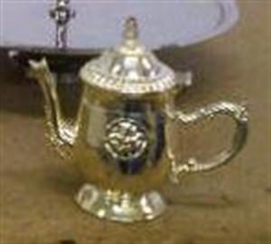 Miniature Ornate Teapot - lid can open