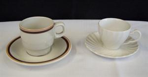 Mocha or Espresso Cups - Brownline and Regency
