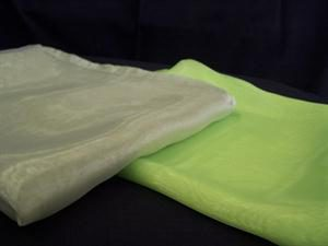 Overlays Organza - Light Green & Lime Green
