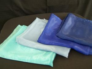 Overlays Organza - Turquoise, Periwinkel Blue, Royal Blue & Navy Blue