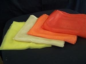 Overlays Organza - Yellow, Gold, Orange & Burnt Orange