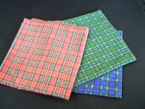 Overlays Tartan - Red, Green & Blue