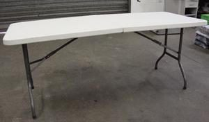 Plastic Trestle Table 180 x 75cm x 74cm high