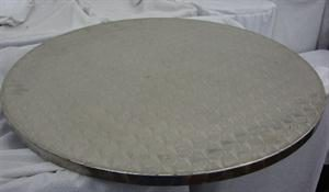 Stainless Steel Round Tray - 60cm diameter