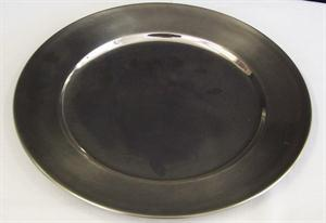 Stainless Steel Under Plate - 33cm