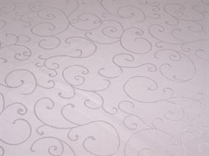 Table Linen - White Embossed