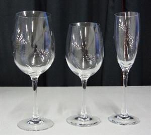 Tulip Range of Glasses Fluted Champ 160ml Red Wine 470ml White Wine 350ml