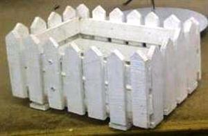 White Picket Fence Box