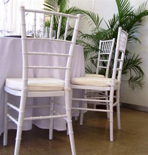 White Tiffany Chairs