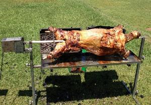 Spit braai - full carcass