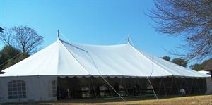 Peg and Pole Marquee