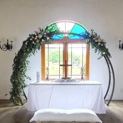 Bridal arch - circular