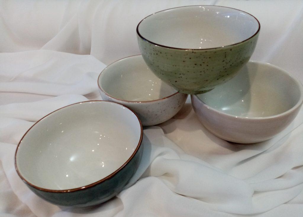 Rustic bowls