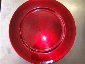 Red Under Plate